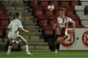 cheltenham town may have the fastest player in football on their...