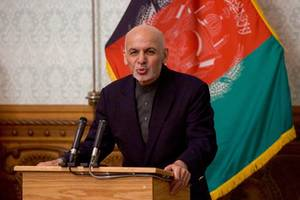 president ghani's response regarding isis-claimed suicide attack in kabul