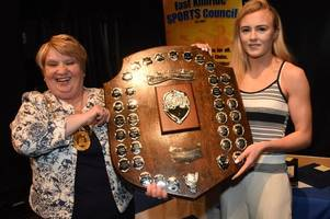east kilbride sports personality of the year awards looming