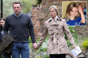 kate and gerry mccann attend maddie's 10th anniversary service in hometown as portuguese also mark disappearance