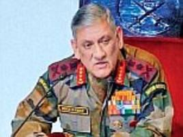 army bipin rawat slams india's lack of  defence spending
