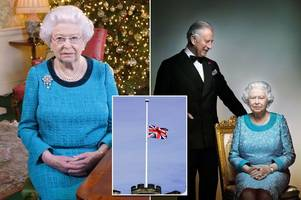 what happens when the queen dies? from 12 days of mourning to who will become monarch