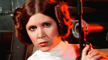 carrie fisher stars on may the fourth