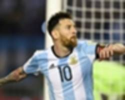 messi's four-game argentina ban and fine rescinded after fifa appeal