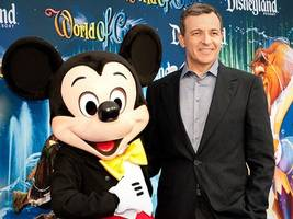 the founder of dreamworks is urging disney ceo bob iger to run for president (dis)