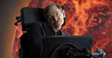 stephen hawking: 100 years left for humans to escape earth
