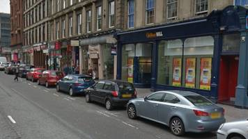 man arrested over glasgow bookmakers assault