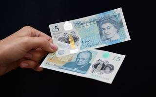 check your pockets: you need to spend all paper £5 notes today
