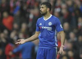 diego costa 'done deal' rejected by chinese side tianjin quanjian as they deny £76m agreement with chelsea