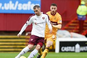 hearts tie defender aaron hughes down on a new one-year deal