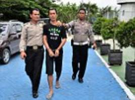 police and locals recapture escaped prisoners in indonesia