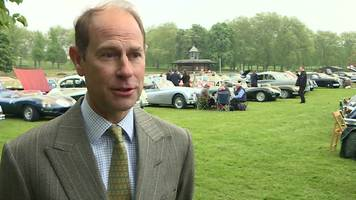 prince edward says 'the show goes on' as the duke of edinburgh retires