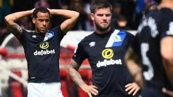 blackburn relegated to league one despite beating brentford