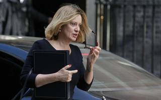 amber rudd is hinting at ongoing rifts over the tory migration target