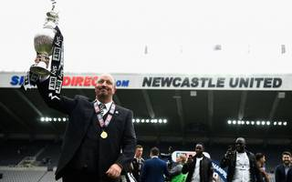 benitez buoyant as newcastle pip faltering brighton to title
