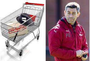 celtic and rangers spies join croatian supermarket sweep but ibrox men are off their trollies for scouting network flop