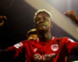 chelsea loanee abraham sets another record at bristol city