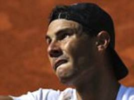 rafael nadal's madrid open start delayed by ear infection
