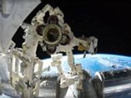 nasa releases stunning 'action cam' footage of spacewalk