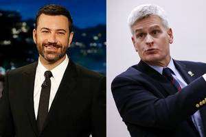 senator who called for 'jimmy kimmel test' to appear on his show