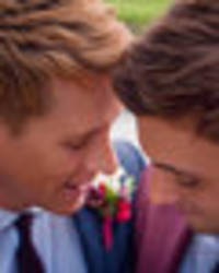 olympic diver tom daley shares pictures of secret wedding to dustin lance black