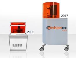 envisiontec unveils fourth generation perfactory 3d printer powered by custom led lights for groundbreaking performance