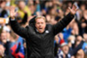 harry redknapp on his future at birmingham city as they escape...