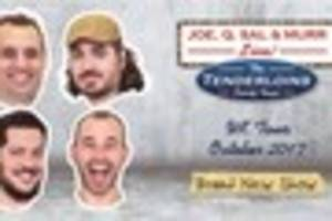 the tenderloins from comedy central's impractical jokers show...