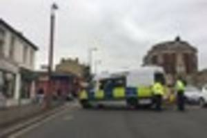 this is why thornton heath high street has been cordoned off