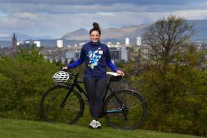 glasgow 2014 medal winner charline joiner reveals rugby star boyfriend can't beat her on a bike