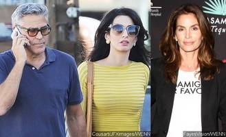 amal and cindy crawford surprise george clooney with birthday party