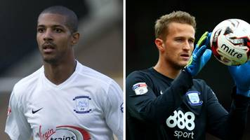 preston north end: jermaine beckford and anders lindegaard released
