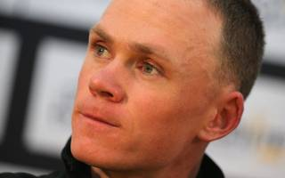 froome rammed off road by hit-and-run driver