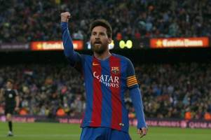 lionel messi's barcelona future to be resolved in next few weeks as argentine close to agreeing £25m-a-year deal