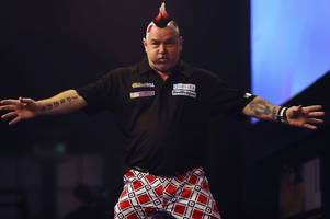 peter wright targets aberdeen victory over raymond van barneveld to set him up for a big night at the o2