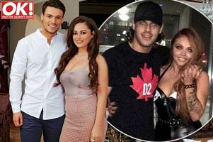 towie's chris clark dumped jesy nelson over the phone – while she was on tour with little mix