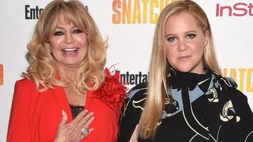 goldie hawn: new film snatcher with amy schumer