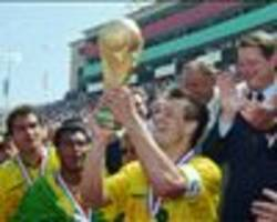 parreira: brazil's 1994 world champions did it without the ball