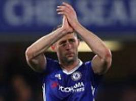 chelsea's gary cahill not letting up in pursuit of title