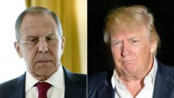 Trump to meet Russian foreign minister Sergei Lavrov