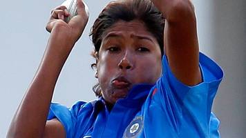 india's goswami sets record with 181st odi wicket