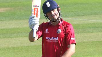 one-day cup: alastair cook scores century as essex beat sussex