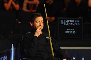 snooker star matthew stevens has cue he had used since he was 12 stolen from his car