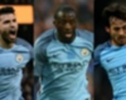 who is manchester city's player of the season?