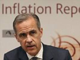 bank of england chief mark carney warns of 'consequences'