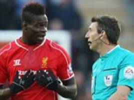 balotelli's £1m liverpool bonus... for not being sent off