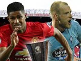 Man Utd vs Celta Vigo, UEFA Europa League LIVE score