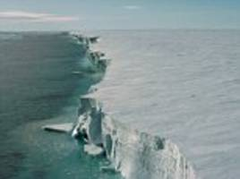 antarctica's massive ice shelf could shrink dramatically