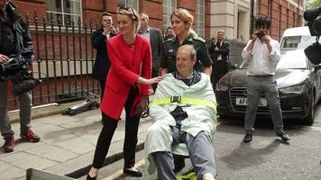 bbc cameraman 'injured in incident with corbyn's car'