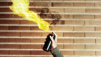 stranraer academy 'flame thrower' alert issued